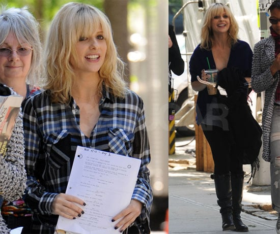 Photos of Sarah Michelle Gellar on the Set of The Wonderful Maladys in NYC