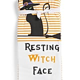 Set of Three Resting Witch Face Kitchen Towels