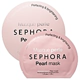 Best for: someone who wants their skin to glow without wearing highlighter (or any other makeup).  The Sephora Collection Pearl Face Mask ($6) contains real white pearls, giving your complexion an incandescent luminosity. The treatment also features broccoli extract, which prevents breakouts, so you can feel free to rock that gorgeous bare face without fear of a sudden pimple cropping up.