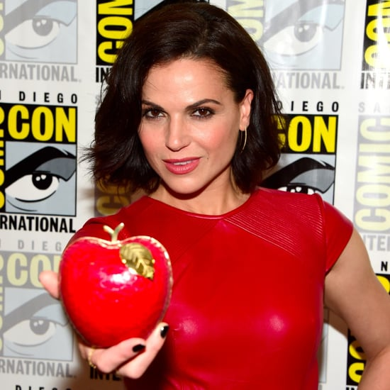 Lana Parrilla's Poison Apple Clutch Bag