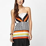 The burst of brights feels effortlessly fun.  Roxy Sky Sail Dress ($36, originally $45)