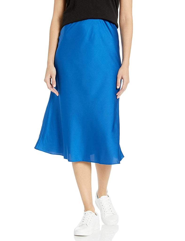 The Drop Maya Silky Slip Skirt