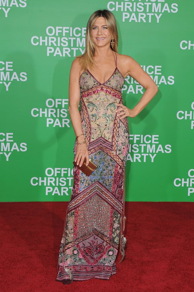 Jennifer Aniston Attended the Office Christmas Party Premiere in LA