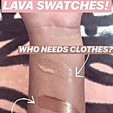 Fenty Beauty Body Lava Swatches