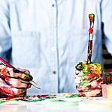 ارسمي لوحة، حتى لو لم تكن لديكِ أيّ مهارة فنيّة.