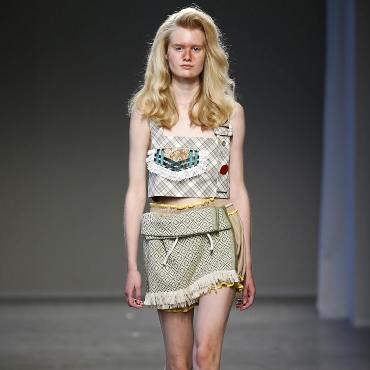 Designer Sends Models With Acne Down Runway