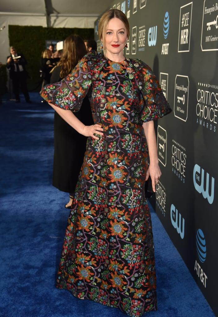 Judy Greer at the 2019 Critics' Choice Awards