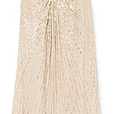 Jenny Packham Embellished Silk-georgette And Tulle Gown
