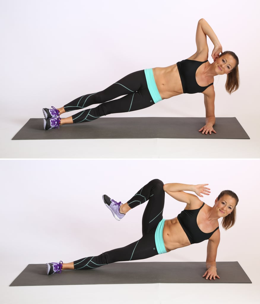 Core: Side-Plank Crunch