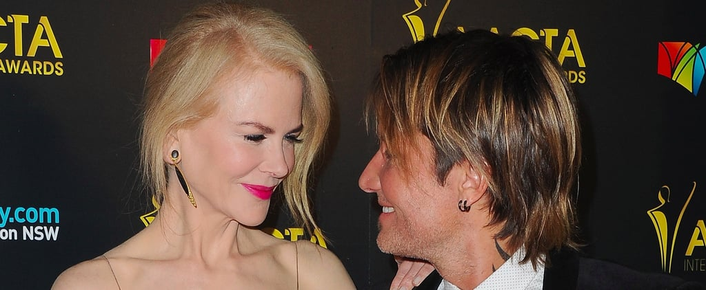 Nicole Kidman and Keith Urban Put on an Affectionate Show on the Red Carpet