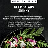 Keep Salads Skinny