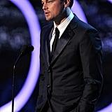 Leonardo DiCaprio at the 2012 Critics' Choice Movie Awards.