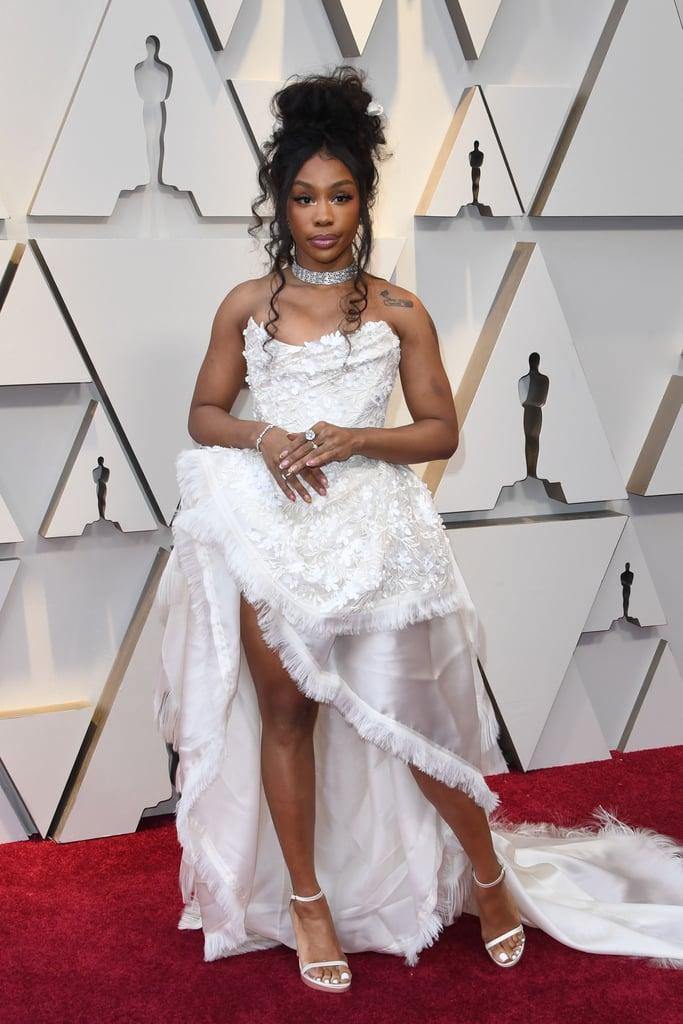 SZA at the 2019 Oscars