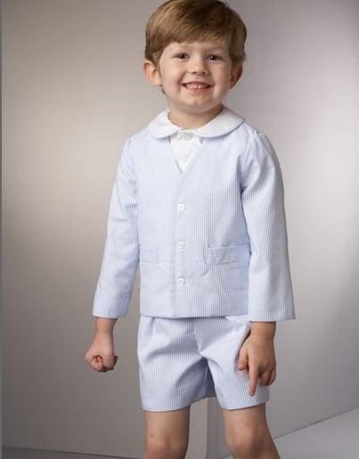 Seersucker Eton Suit
