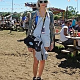 Cara Delevigne and Her Mini Taylor Satchel in Black