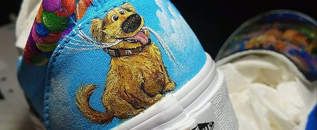 Disney Fans! This Artist Can Take Your Favorite Sneakers to the Next Level