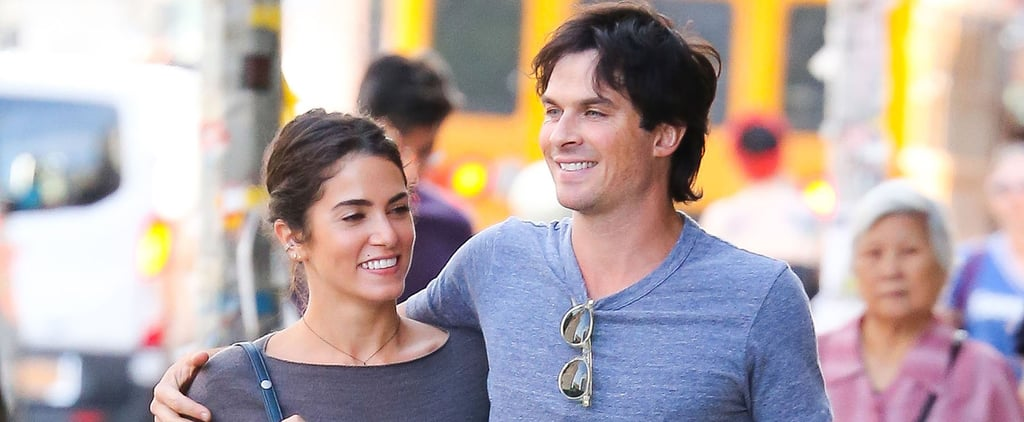 Nikki Reed and Ian Somerhalder Stroll Arm in Arm Around the Big Apple