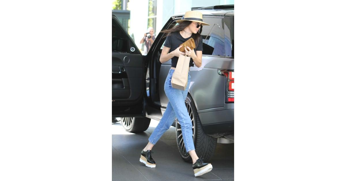 fc21d3c8fed Kendall Wearing Her Stella McCartney Platforms