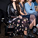 Selena Sat Front Row at Coach