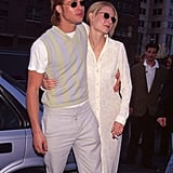 Gwyneth and Brad