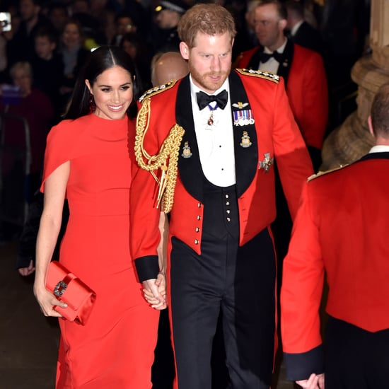 Meghan Markle's Red Safiyaa Dress at Mountbatten Festival