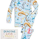 Dragons Love Tacos Pajamas and Book Set