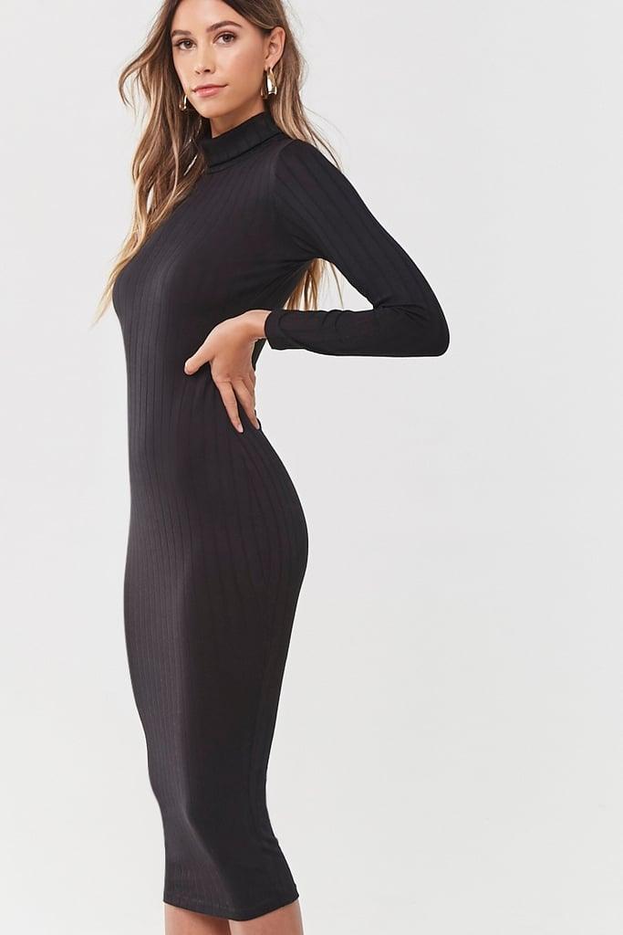 Forever 21 Turtleneck Midi Dress