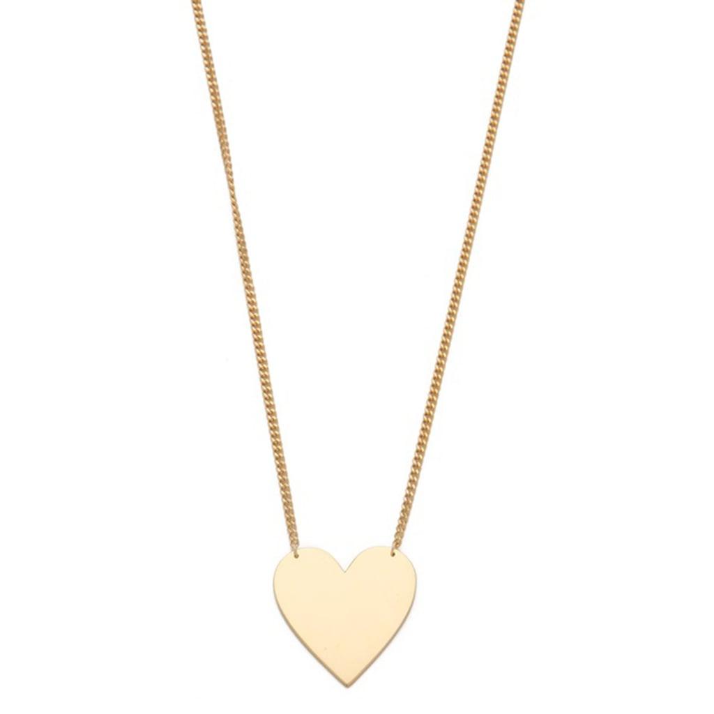Jennifer Zeuner Heart Necklace