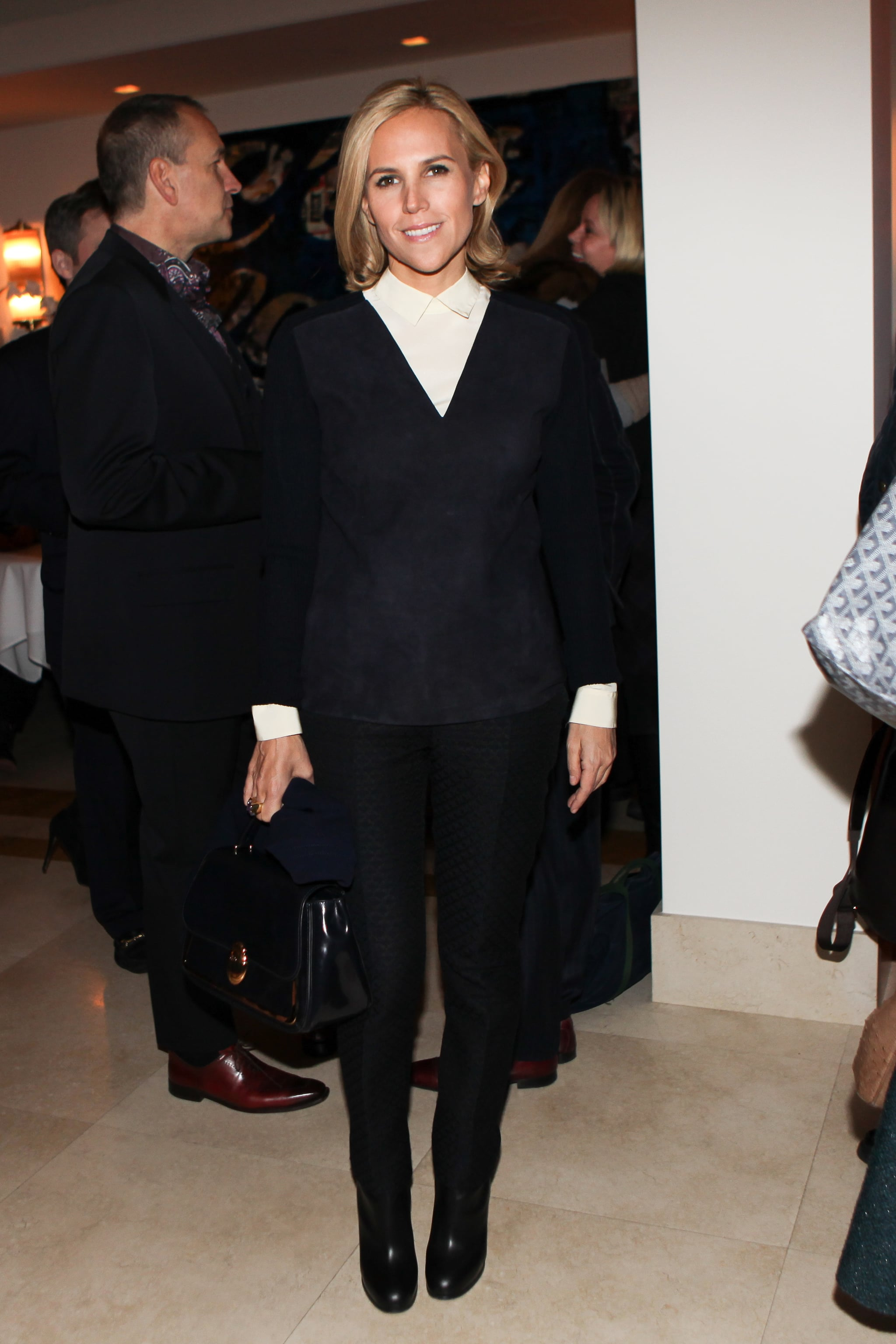 Tory Burch at the Kara Ross boutique grand opening.