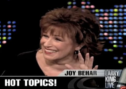 Do You Ever Have Joy Behar Cell Phone Moments?