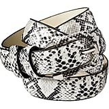 Cinch your little black dresses and pants with this Merona snake trouser belt ($15) for a subtle pop of wild print.