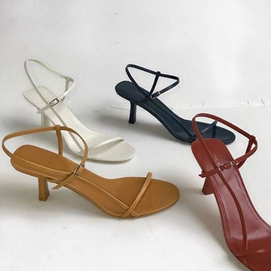 Tony Bianco Replica of The Row Bare Leather Sandal