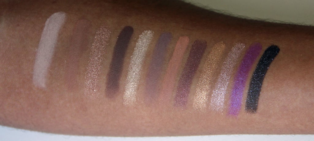 Too Faced Merry Macarons Palette Swatched on Dark Skin