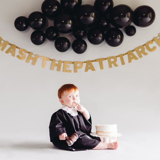 Smash the Patriarchy First Birthday Cake Smash
