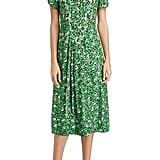 Marc Jacobs The Sofia Loves the 40s Silk Midi Dress