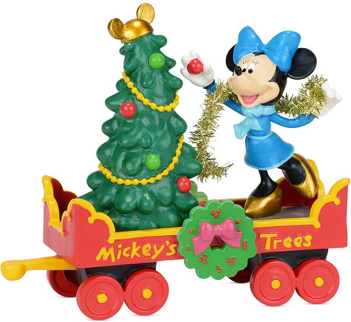 mickeys christmas village collection mickeys holiday - Mickey Christmas Decorations