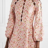 Zimmermann Goldie Cutout Floral-Print Linen and Cotton-Blend Mini Dress ($695)