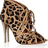 These Alaïa Leopard-Print Calf Hair Ankle Boots ($2,225) are pricey but will last you a lifetime.