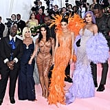 Kim Kardashian and Family at the 2019 Met Gala