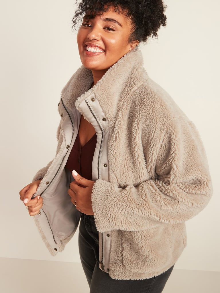 Cosy Teddy-Sherpa Jacket