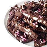 Peppermint Crunch Rocky Road Bark