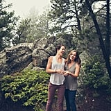Colorado Woods Engagement Photo Shoot
