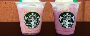 You're Going to Want to Try Starbucks's Latest Frappuccino Flavors . . .