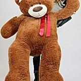 5-Foot Very Big Smiling Teddy Bear