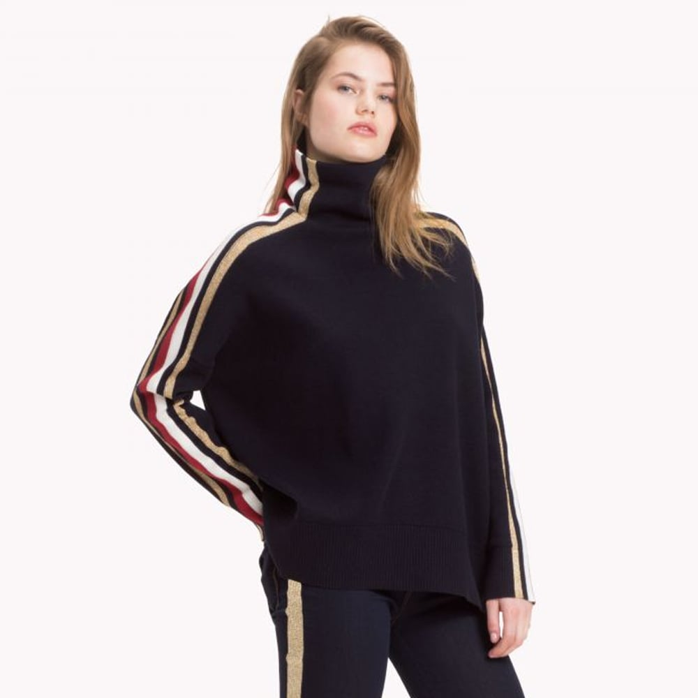 Tommy Hilfiger Tommy Icons Mock Neck Sweater ($369)