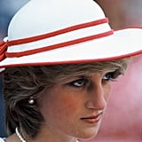 Princess Diana was photographed on her first visit to Canada in 1983.