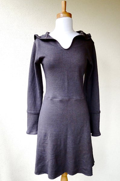 I can picture myself grabbing this Organic Cotton Fleece Hoodie Dress ($152) for over my workout gear on a cold San Francisco morning.
