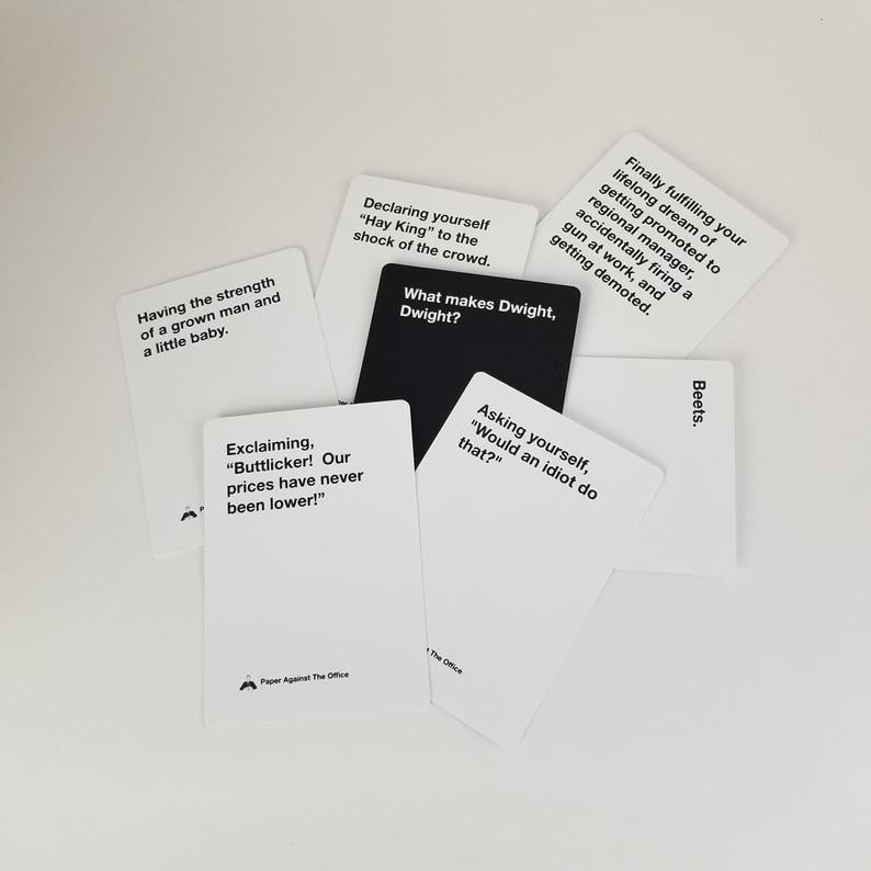 The Office Cards Against Humanity Deck From Etsy | POPSUGAR