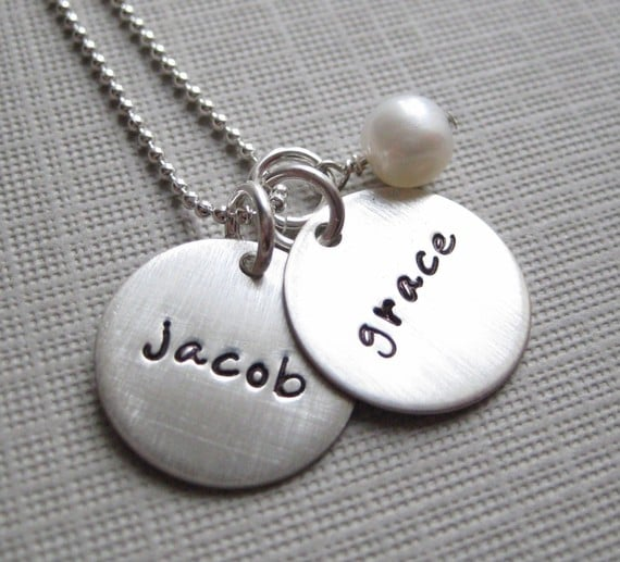 Personalized Charm Necklace ($41)