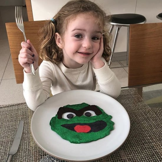 Jimmy Kimmel's Wife Is Mad He's Good at Pancake Art